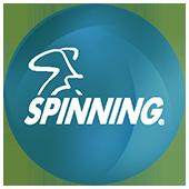 Spinning.